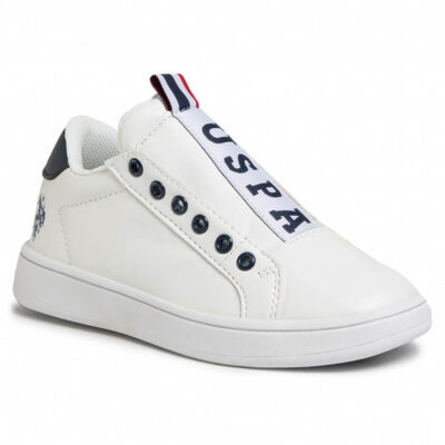 ΠΑΙΔΙΚΑ SNEAKERS U.S. POLO WHITE ASHER CLUB