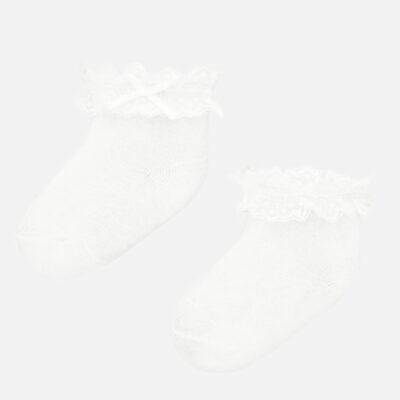 Καλτσάκια αμπιγιέ Νεογέννητο κορίτσι-χρυσαφί