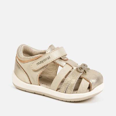 Σανδάλια Χρυσό λεπτομέρειες baby κορίτσι - First Steps
