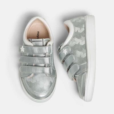 Παπούτσι casual βέλκρο αστέρια κορίτσι