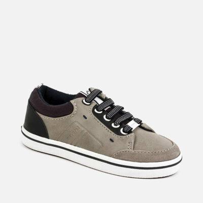 Παπούτσια casual αγόρι-γκρι