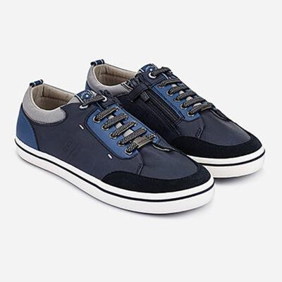 Παπούτσια casual αγόρι-μπλε