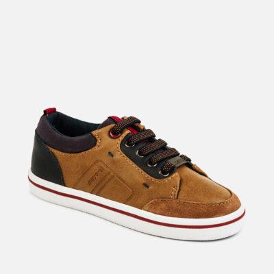 Παπούτσια casual αγόρι-καμελ