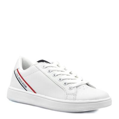 Παιδικά Παπούτσια Casual Adrian Άσπρο ECOleather U.S. Polo Assn.