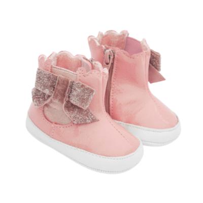 Παπούτσια λουστρίνι Νεογέννητο κορίτσι
