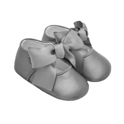Παπούτσια φιόγκος αμπιγιέ Νεογέννητο κορίτσι
