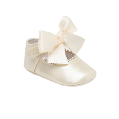 Παπούτσια φιόγκος Νεογέννητο κορίτσι
